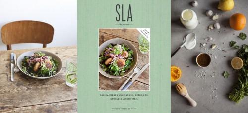 We love: SLA komt met een kookboek