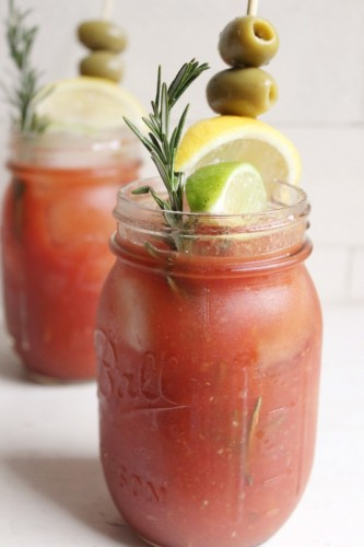 kruidige bloody mary