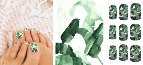 Beauty: tropische nagels