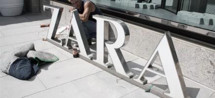 De Zara op de Nieuwendijk is bijna open