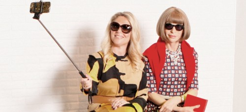 Anna Wintour is in Amsterdam