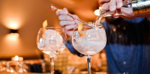 Gin-tonic in Amsterdam