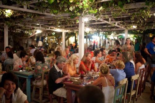 restaurant op Ibiza