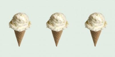 Caramel zeezout kokos ijs