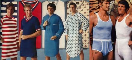Mannenmode in de jaren '70 zag er zo uit