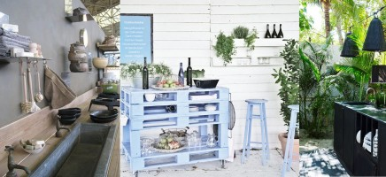 Inspiratie voor een buitenkeuken
