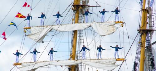 Al het volk aan dek! Het is weer Sail Amsterdam