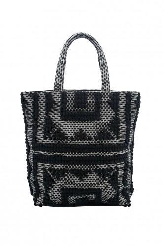 zwart wit tas