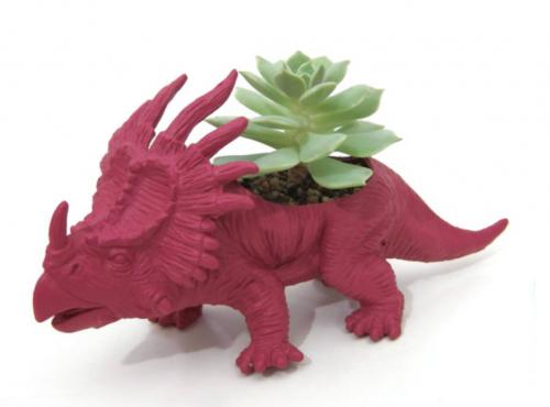 roze dinosaurus