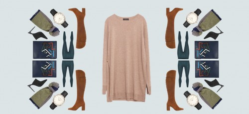 Shopping: 1 oversized trui 3 x anders