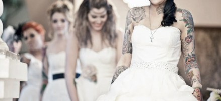 10 stijlvolle bruidjes mét tatoeage