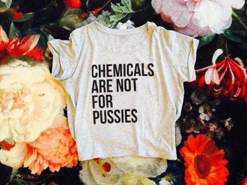 No more chemicals: dit stop je liever in je vajayjay