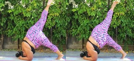 Deze yogi maakt korte metten met het stereotype beeld van yoga...