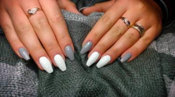 Beauty-alarm: gebreide nagels voor de wintermaanden