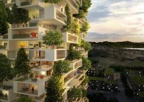Gaaf! Altijd al in een 'groen' appartement willen wonen?