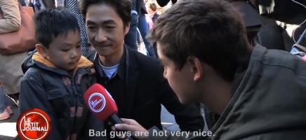 Dierbaar gesprek tussen vader en zoon na de aanslagen in Parijs