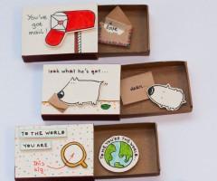 Matchbox-Cards: wenskaarten in een nieuw jasje
