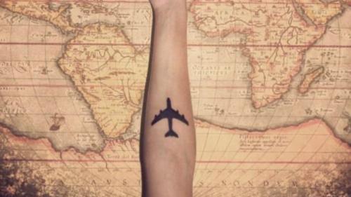 11 x unieke travel tatoeages voor de reislustigen onder ons