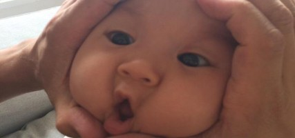 Japanse trend: rijstballen maken van babygezichtjes