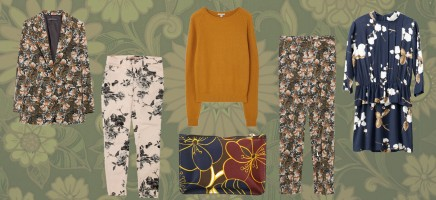 Shopping: zo draag je bloemenprints in de winter