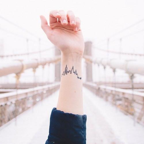 skyline tattoo