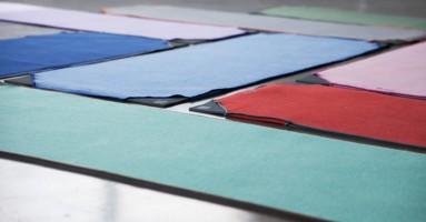 Aviska handdoek is doorbraak in yoga-land