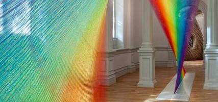 Sick: deze regenboog is gemaakt van 90 kilometer (!) draad