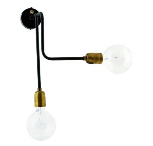 twee armige schaarlamp