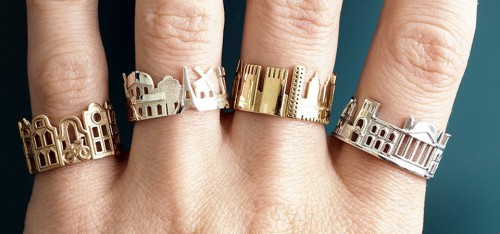 Té leuk! Met deze ringen draag je jouw geliefde stad altijd b...