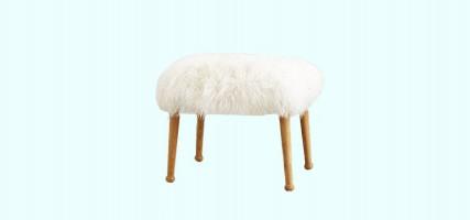 DIY: maak je eigen faux fur kruk