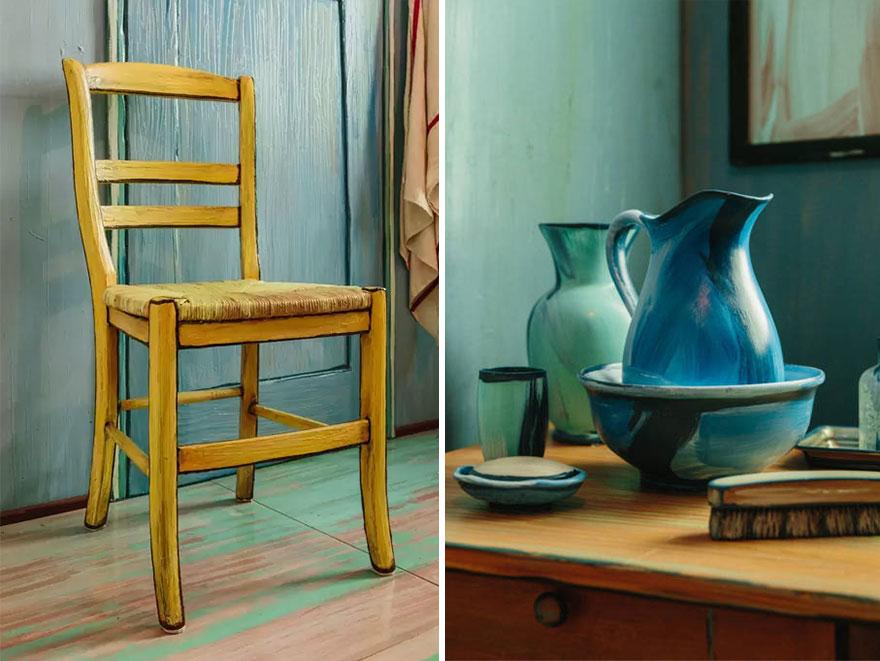 Slapen in het schilderij van Vincent van Gogh, het is mogelijk | Enfait