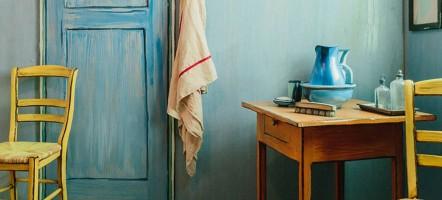 Slapen in het schilderij van Vincent van Gogh, het is mogelijk