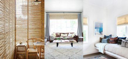 Trend: bamboe rolgordijnen sieren de ramen