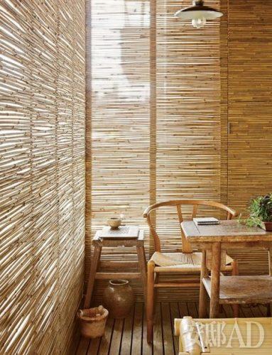 Trend Bamboe Rolgordijnen Sieren De Ramen Enfait