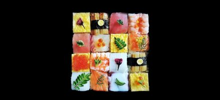 Foodtrend: Mozaiek sushi is een lust voor het oog