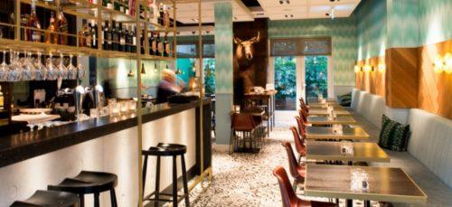 Ontbijten, borrelen of dineren bij Brooks Amsterdam