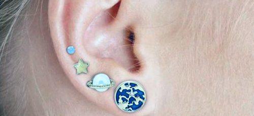 Deze piercings laten het universum zien