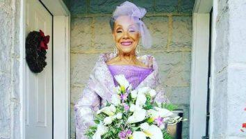 86-jarige oma treedt stijlvol het huwelijk in