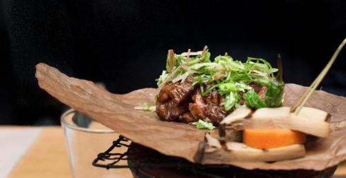 Proef het limited edition 'Kyoto/Lima' menu bij IZAKAYA
