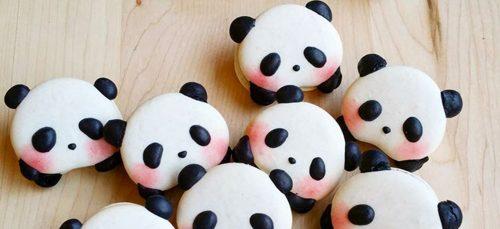 Deze panda macarons zijn té schattig om op te eten