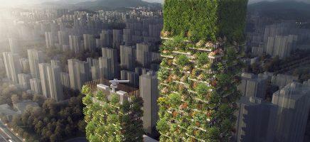Dit verticale bos in Nanjing voorziet de hele stad van zuurstof