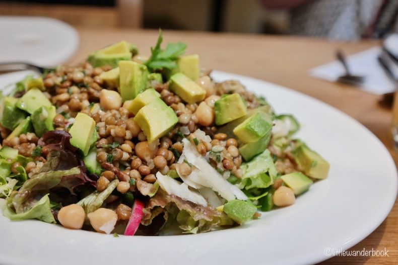 Healthy Lunch bij Le Pain Quotidien