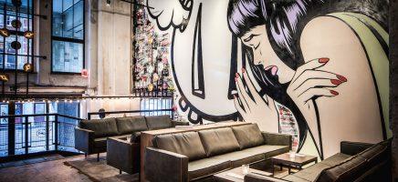 Street Art Bar en Restaurant de Bajes, Amsterdam