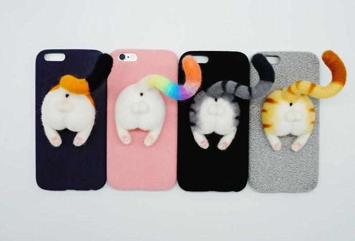 Dit wil jij hebben: Kattenbillen op je telefoon