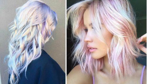 De haartrend van 2017; Holografisch haar