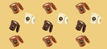 Magnum lanceert een nieuw ijs-product en dat moet gevierd! In ...