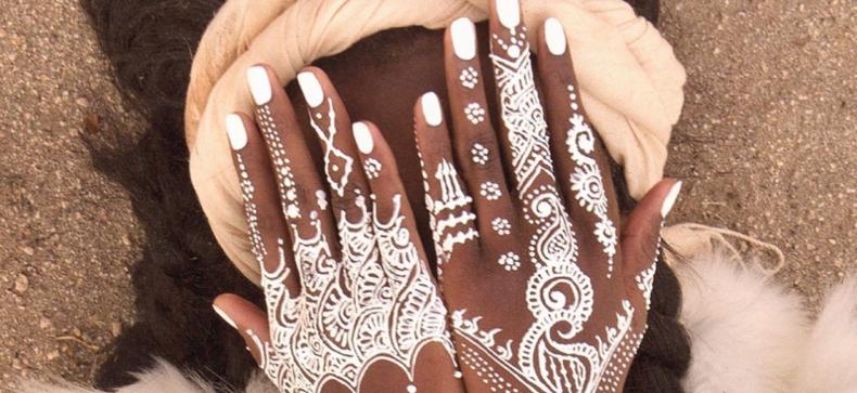 Festival trend; Witte henna