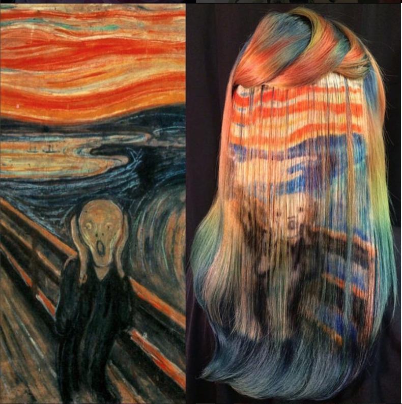 Deze haarstyliste maakt letterlijk kunst van je haar