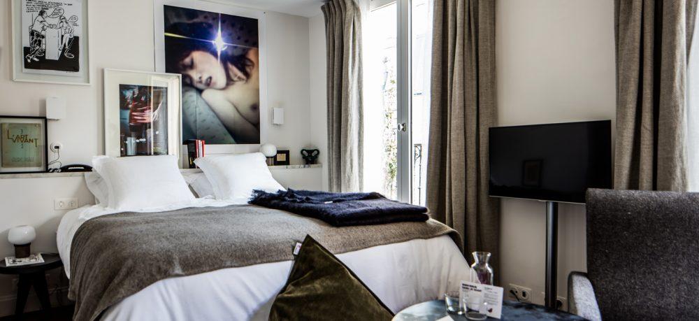 hotel le pigalle in parijs enfait. Black Bedroom Furniture Sets. Home Design Ideas