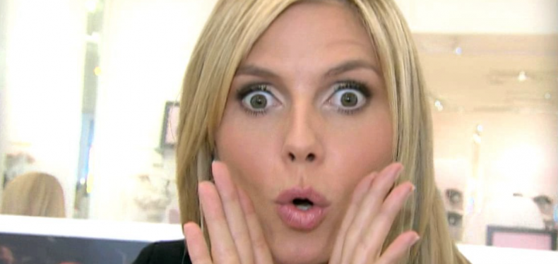 Heidi Klum aan het werk voor Lidl?!